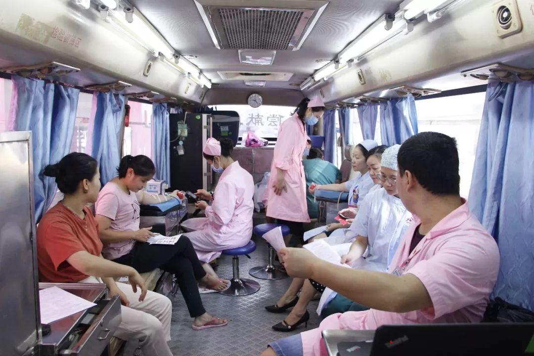 貴港紅房子婦產醫院_愛心傳遞,生命接力—貴港紅房子醫院開展無償獻血活動